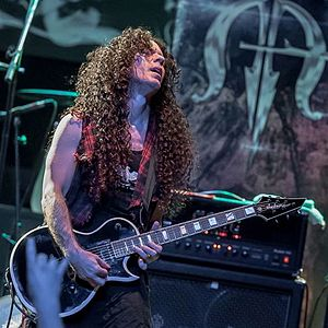 Marty Friedman - Marty Friedman live in the USA with his Jackson signature guitar in 2016
