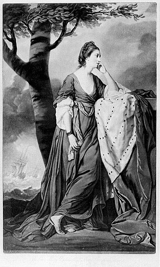 Peregrine Bertie, 3rd Duke of Ancaster and Kesteven - Mary, Duchess of Ancaster and Kesteven, wife of the 3rd Duke of Ancaster and Kesteven.