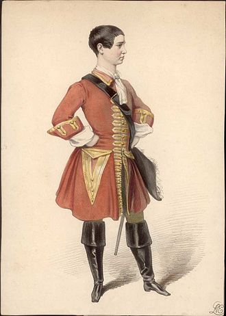 Mary Anne Keeley - Mary Anne Keeley in a breeches role