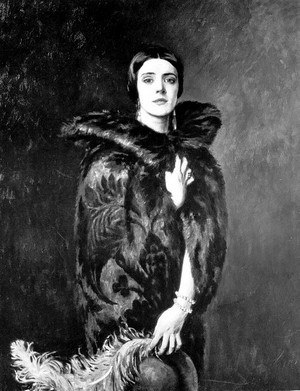 Irene Curzon, 2nd Baroness Ravensdale - Mary Irene Curzon, Baroness Ravensdale, William Bruce Ellis Ranken, 1925