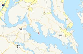 Southern Maryland Islands