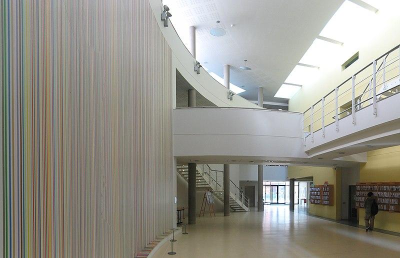 File:Maths foyer, Warwick University.jpg