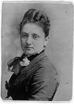 Matilda Coxe Stevenson - circa 1870
