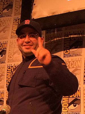 Matt Mira - Mira in July 2015, San Diego Comic-Con