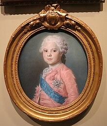 Ritratto del giovane Luigi, conte di Provenza