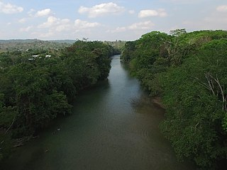 Mopan River river in Belize