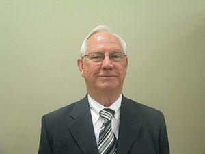 Tommy Davis (Louisiana politician) - Davis on the night of his swearing-in as mayor of Minden (2013)