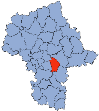 Otwock County - Image: Mazowsze Otwocki