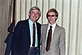 Me with Phil Donahue 1981 (4371325660).jpg