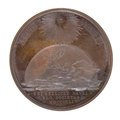 Medalj med bild av jordklotet samt stjärna - Skoklosters slott - 99286.tif