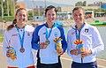 Medallistas del W1x en los Juegos del Mediterráneo 2018.jpg