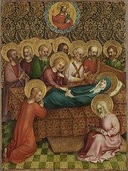 Heisterbacher Altar: Tod Mariens (mit Stefan Lochner)