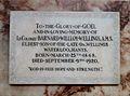 Memorial to Barnard William Wellings in Ripon Cathedral.JPG