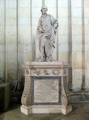 Sir George Savile, 8th Baronet - Monument to Sir George Savile in the north choir aisle of York Minster