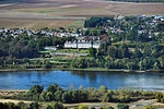 Menars castle and surroundings, aerial view.jpg
