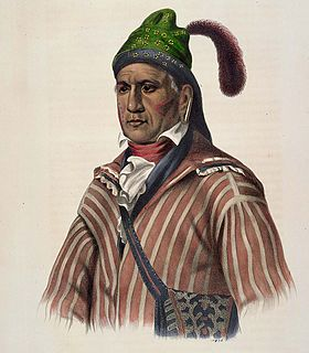 Menawa Muscogee chief
