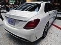 Mercedes-Benz C 180 Laureus Edition (W205) rear.jpg