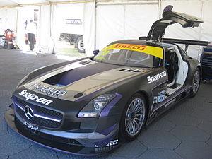 Craig Baird - Image: Mercedes Benz SLS AMG GT3 of Craig Baird 2013