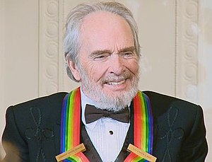 Merle Haggard - Haggard at the White House for the 2010 Kennedy Center Honors