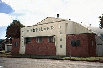 Merriland Hall - Merriland Hall, street view, 2000