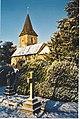 Merrow Church in Winter. - geograph.org.uk - 108070.jpg