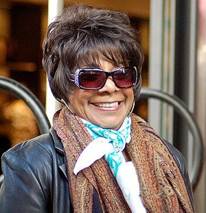 Merry Clayton - Clayton in December 2012 at a ceremony for Carole King to receive a star on the Hollywood Walk of Fame