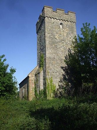 Deruvian - Image: Merthyr Dyfan parish church