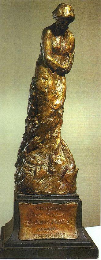 May 1918 lynchings - Meta Vaux Warrick Fuller, Mary Turner, painted plaster sculpture, 1919