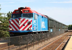 "Metra F40PH-2 120 ""City Of Woodstock""..."