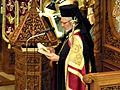 Metropolitan Sotirios - Holy Friday (Epitaphios Thrênos) - Annunciation, Toronto.JPG