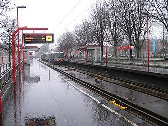 Oosterflank metro station - Image: Metrostation Oosterflank