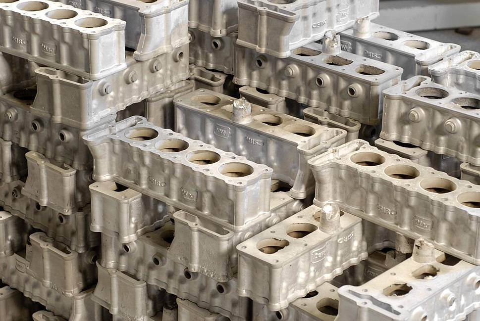 Mg alloy car engine blocks