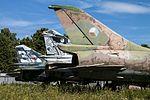 MiG-23 Floggers, Su-7 Fitter, Czech Air Force Museum, Prague-Kbely Airbase (28897340380).jpg