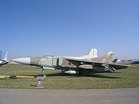 MiG-23 in Technical museum Togliatti.JPG