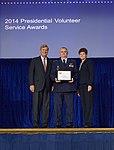 Michael D. Bryant receives President's Gold Volunteer Service Award.jpg