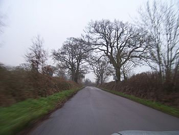 English: Mid Devon : Country Roads Countryside...