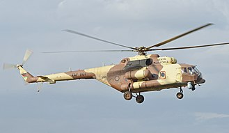 Kenya Air Force - A Mil Mi-171E at Wilson Airport