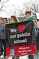 Milwaukee Public School Teachers and Supporters Picket Outside Milwaukee Public Schools Adminstration Building Milwaukee Wisconsin 4-24-18 1096 (40833952325).jpg