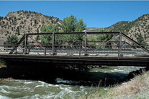 Idaho Springs, Colorado - Image: Miner Street Bridge