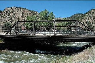 Idaho Springs, Colorado - Image: Miner Street Bridge