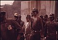 Miners Just Leaving the Elevator Shaft of Virginia-Pocahontas Coal Company Mine -4 near Richlands, Virginia at 4 P.M. 04-1974 (3906400199).jpg