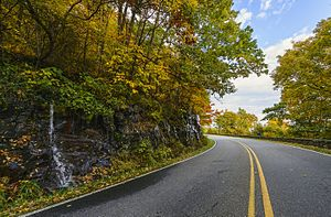 Skyline Drive - Skyline Drive in the fall