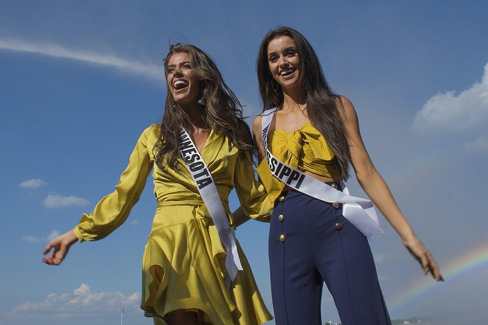 Miss Minnesota USA 2018, and Miss Mississippi USA 2018