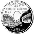 Missouri quarter, reverse side, 2003.jpg