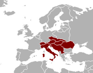 Mitropa Cup - Nations which participated in the Mitropa Cup (1927–1940)