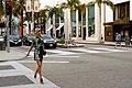 Model crosses street in Beverly Hills.jpeg