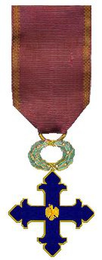 Order of Michael the Brave - Obverse of the modern (2000) third class order