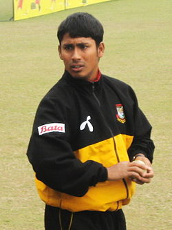 Mohammad Ashraful training, 23 January, 2009, Dhaka SBNS.jpg