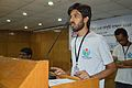 Moheen Reeyad Speaks - Bengali Wikipedia in Ten Years - Challenges and Experience - Bengali Wikipedia 10th Anniversary Celebration - Daffodil International University - Dhaka 2015-05-30 1608.JPG