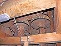 Molen De Koe Ermelo, rechts maalkoppel links steenspil eeksteen.jpg